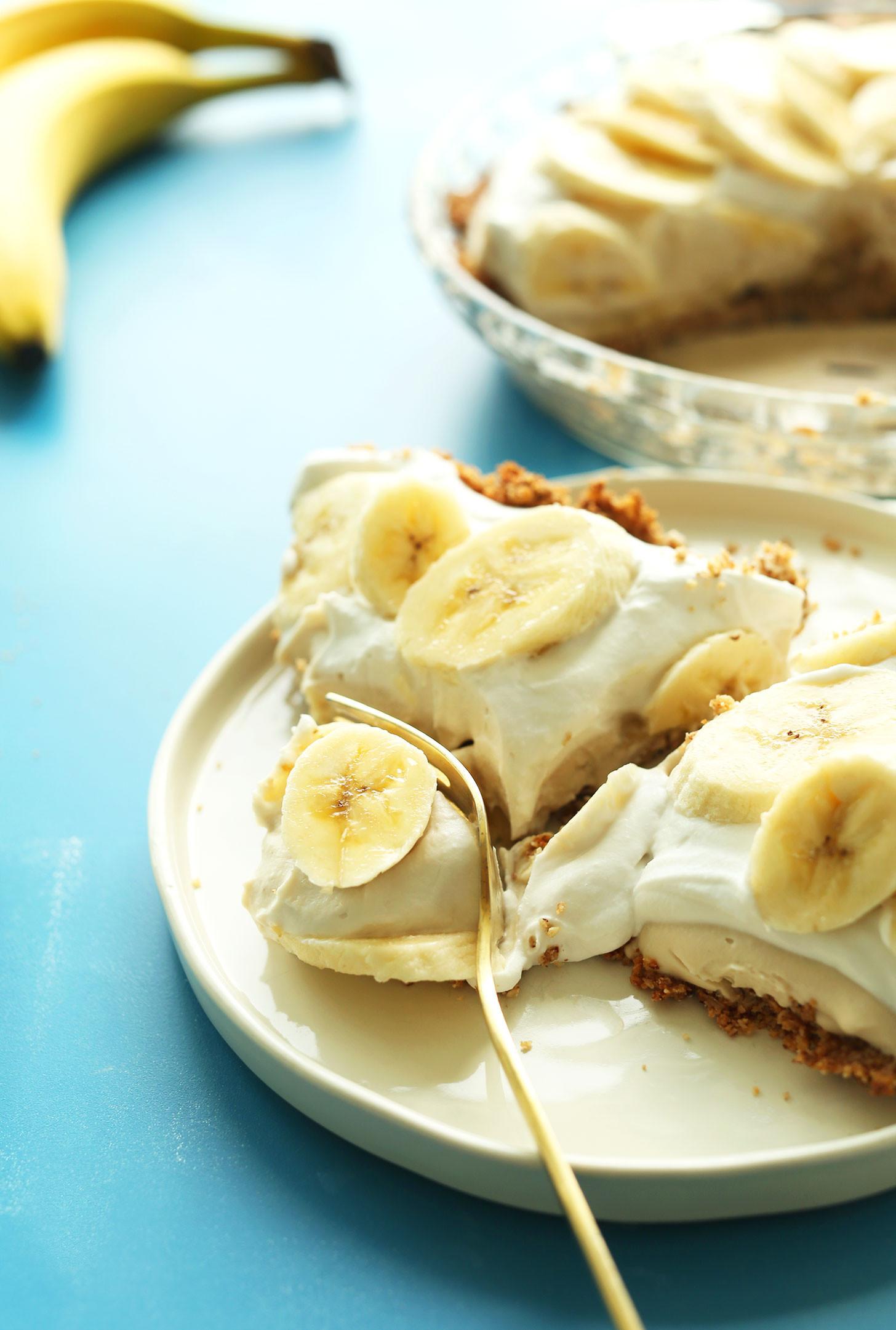 Vegan Banana Recipes  vegan banana pudding cake