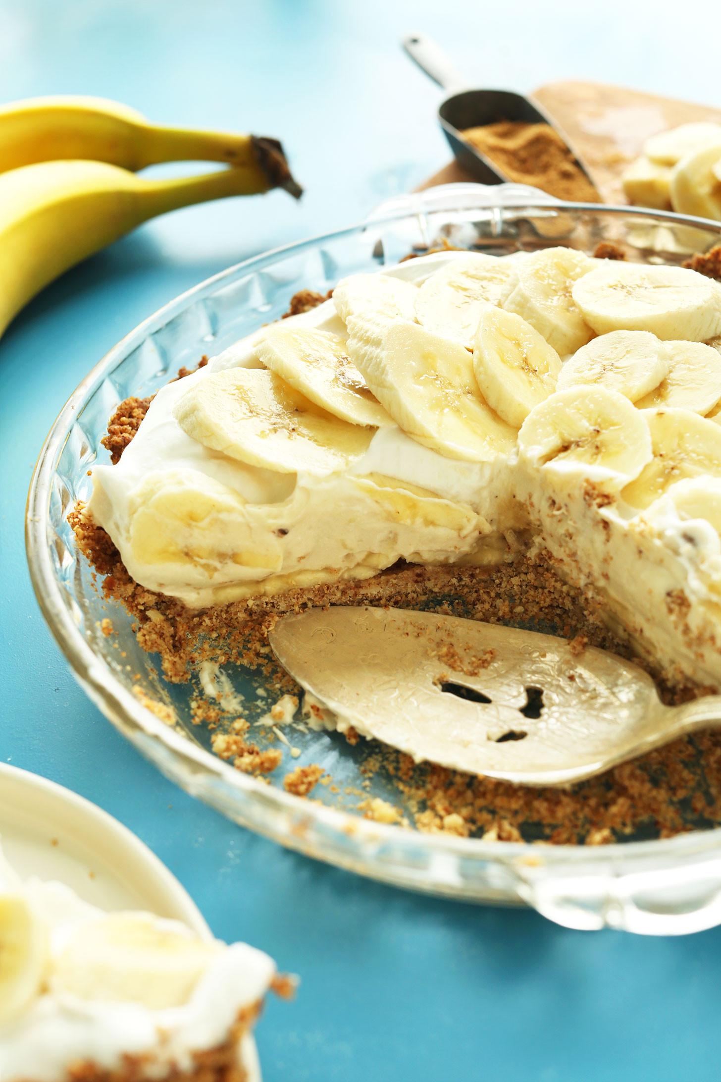 Vegan Banana Recipes  Vegan Banana Cream Pie