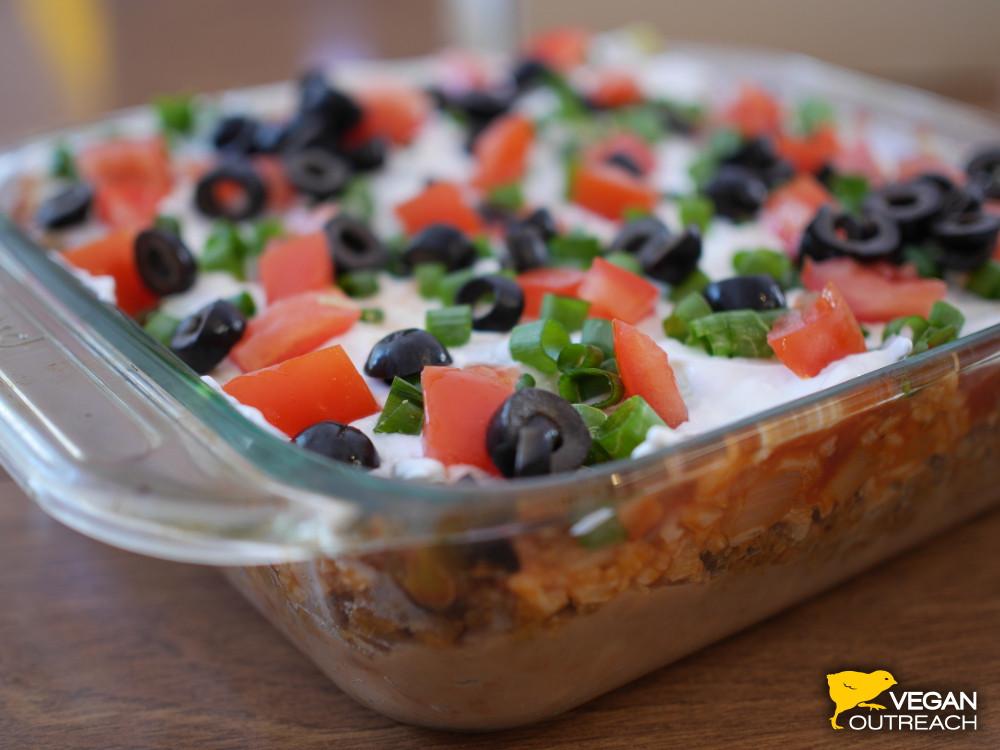 Vegan Bean Dip Recipes  7 Layer Bean Dip