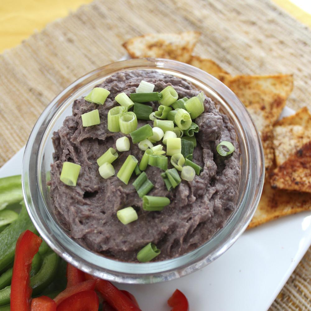 Vegan Bean Dip Recipes  Vegan Cheezy Black Bean Dip