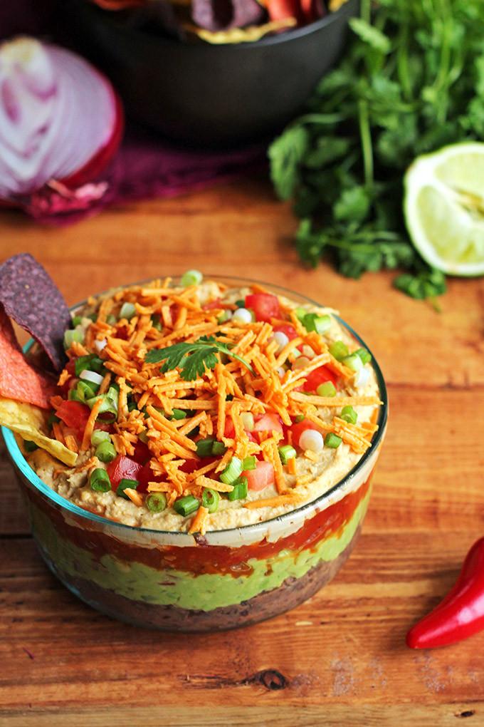 Vegan Bean Dip Recipes  The BEST Vegan 7 Layer Dip I LOVE VEGAN