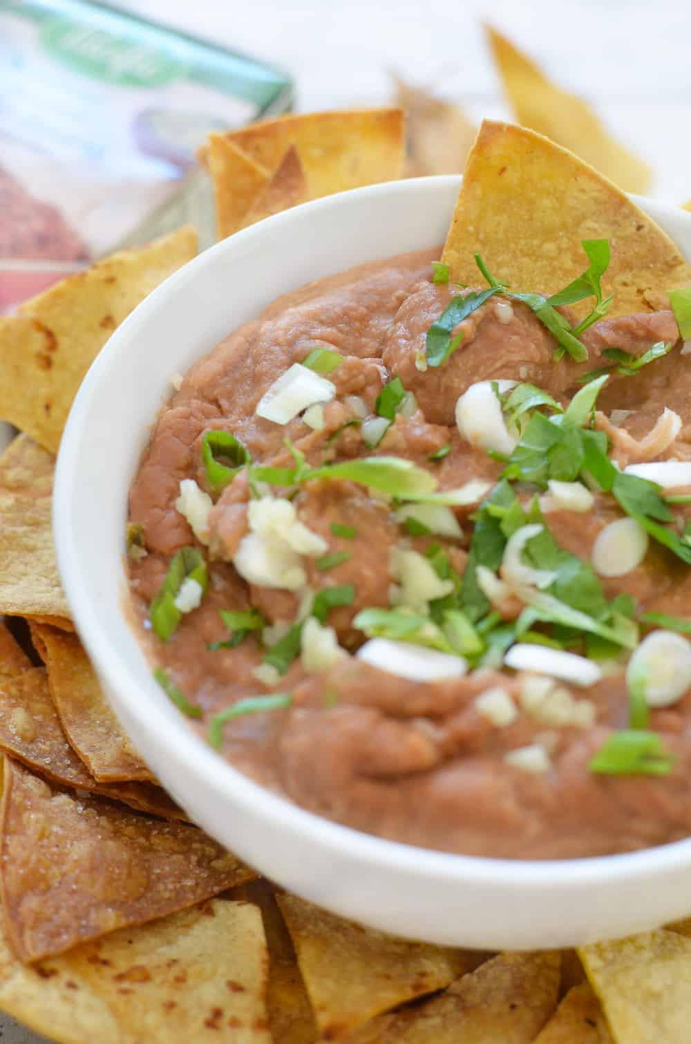 Vegan Bean Dip Recipes  spicy bean dip ve arian