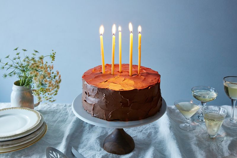 Vegan Birthday Cake Delivery  Genius Vegan Chocolate Birthday Cake Recipe