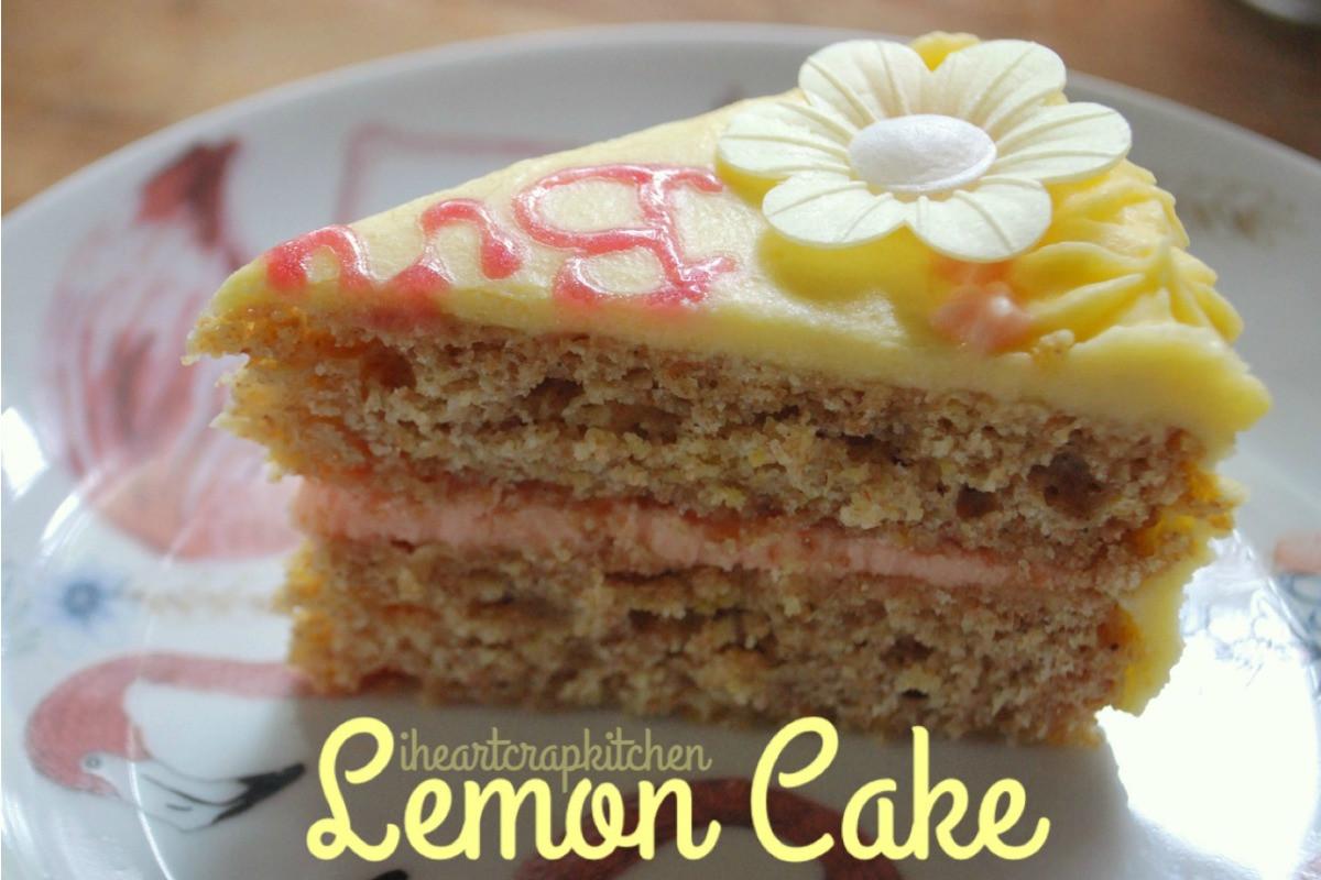 Vegan Birthday Cake Delivery  Stealthy Lemon Birthday Cake [Vegan] e Green Planet e