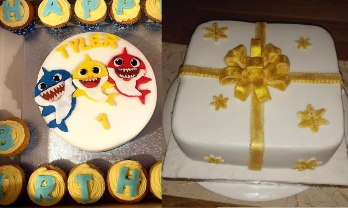 Vegan Birthday Cake Delivery  280 Bakes Vegano Restaurante en Bristol GB Whole