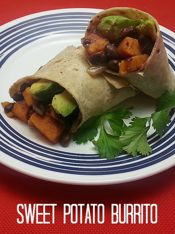 Vegan Black Bean Burritos  Vegan Sweet Potato & Black Bean Burritos