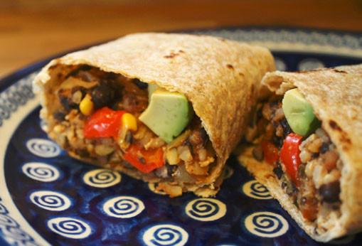 Vegan Black Bean Burritos  Black Bean Tofu Burritos Vocal Vegan