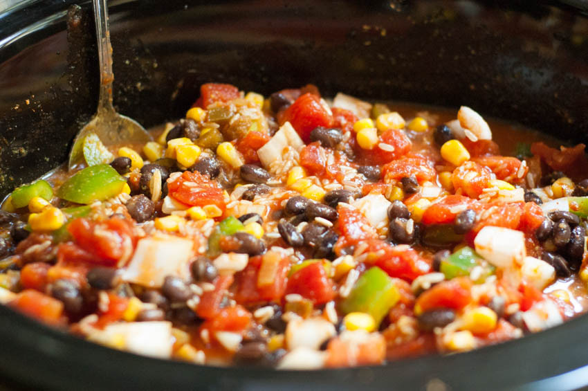Vegan Black Bean Burritos  Slow Cooker Black Bean Burritos