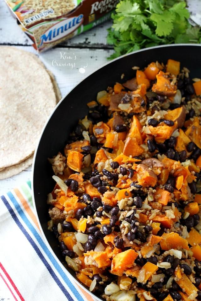 Vegan Black Bean Burritos  Sweet Potato and Black Bean Vegan Burritos Kim s Cravings