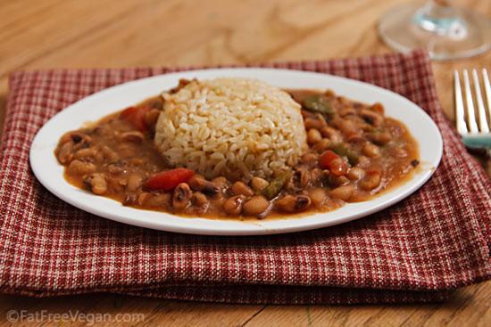 Vegan Black Eyed Pea Recipes  Creole Black eyed Peas