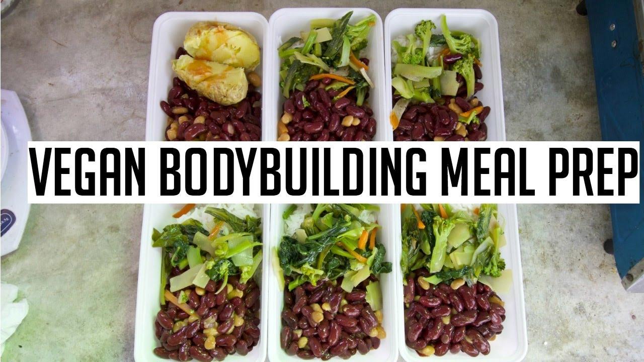 Vegan Bodybuilding Recipes  VEGAN BODYBUILDING MEAL PREP ON A BUDGET