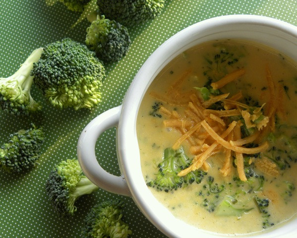 Vegan Broccoli Cheese Soup  Vegan Broccoli Cheese Soup
