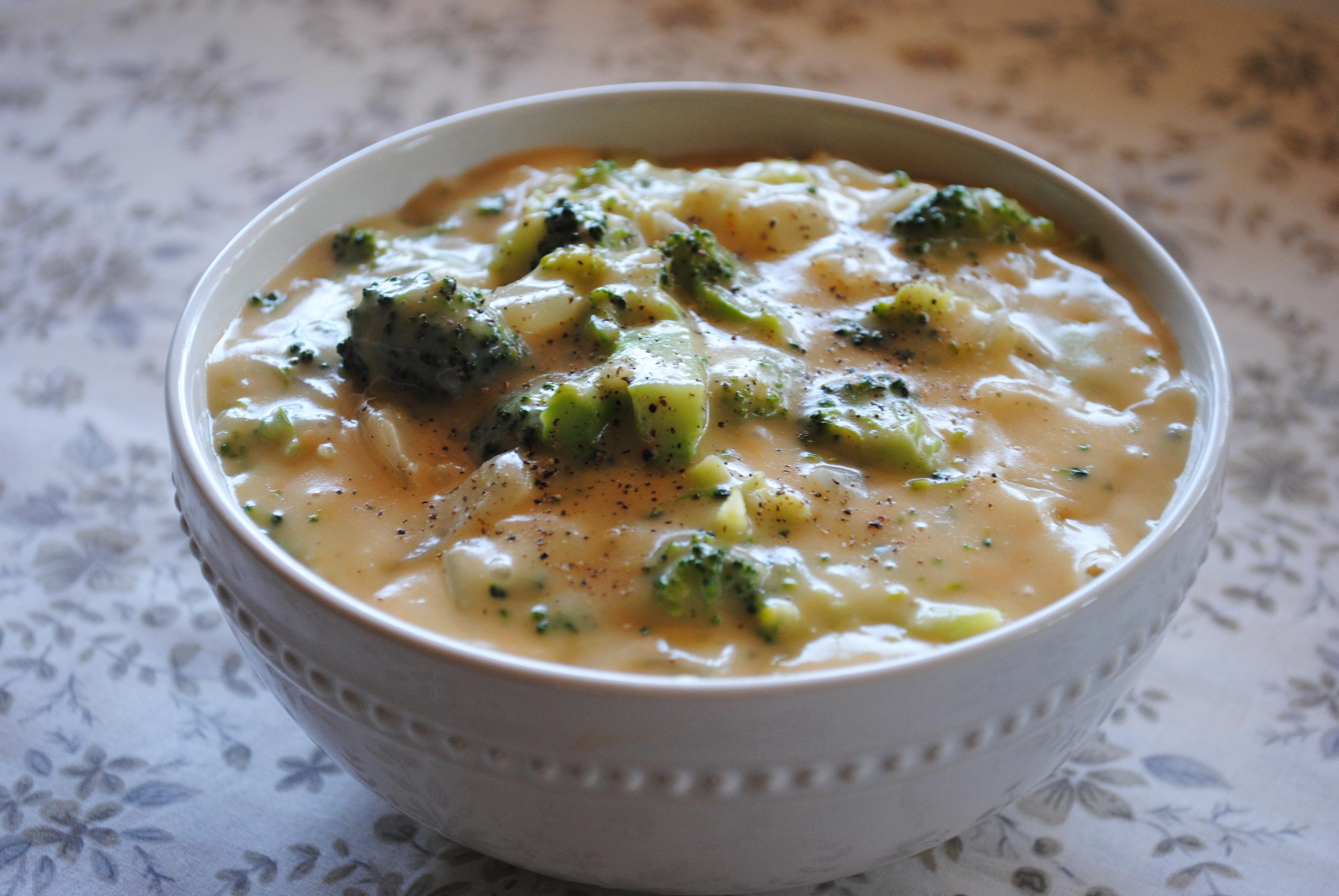 Vegan Broccoli Cheese Soup  Creamy Broccoli Cheese Soup