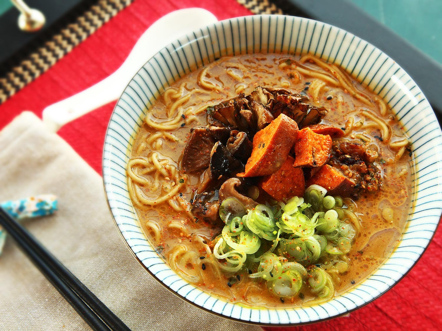 Vegan Broth Recipes  The Ultimate Rich and Creamy Vegan Ramen With Roasted