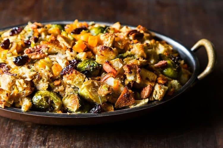 Vegan Brussel Sprouts Recipes  Vegan Thanksgiving Stuffing and Dressing Recipes Plantivores