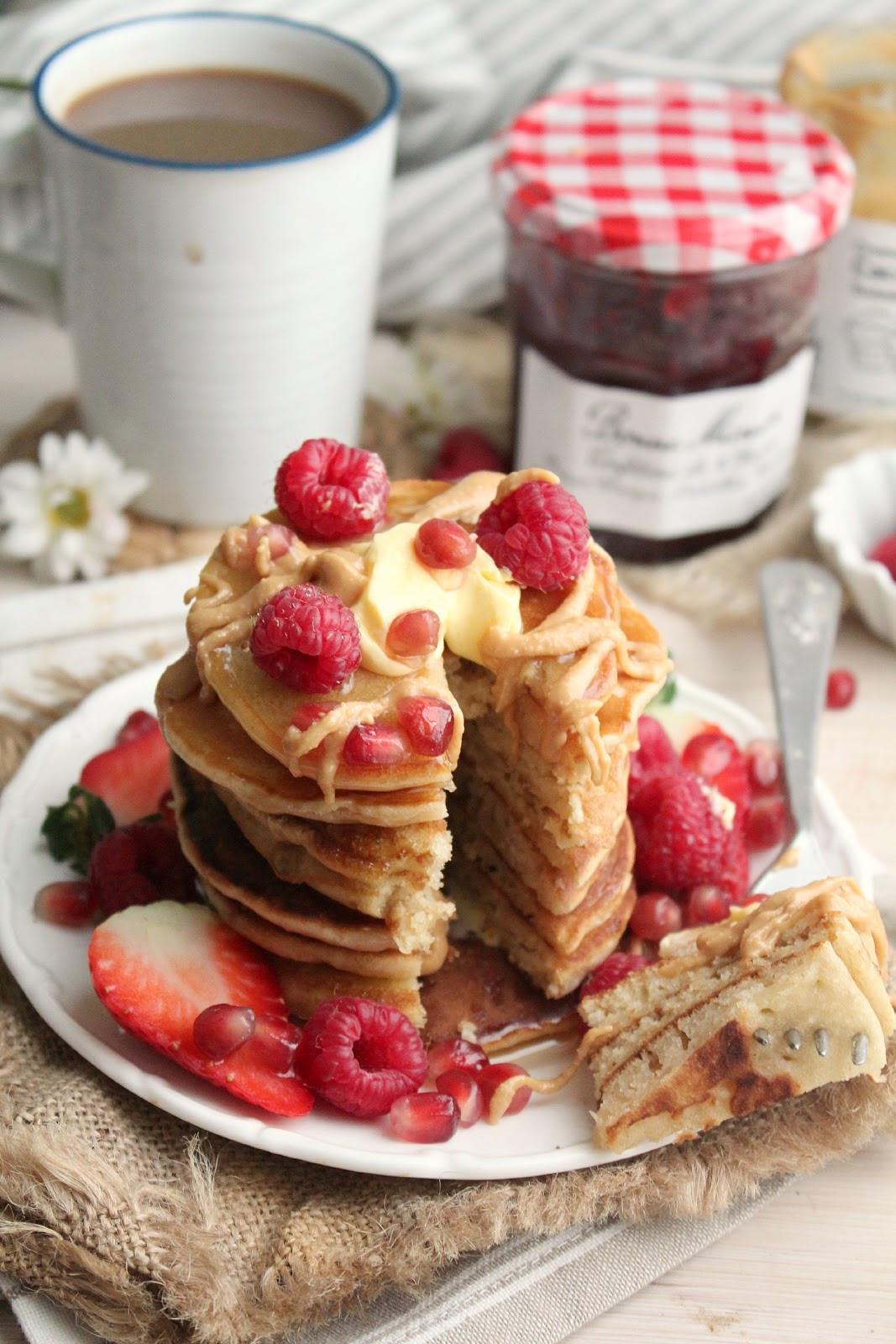 Vegan Buttermilk Pancakes  Vegan Buttermilk Pancakes earthly taste
