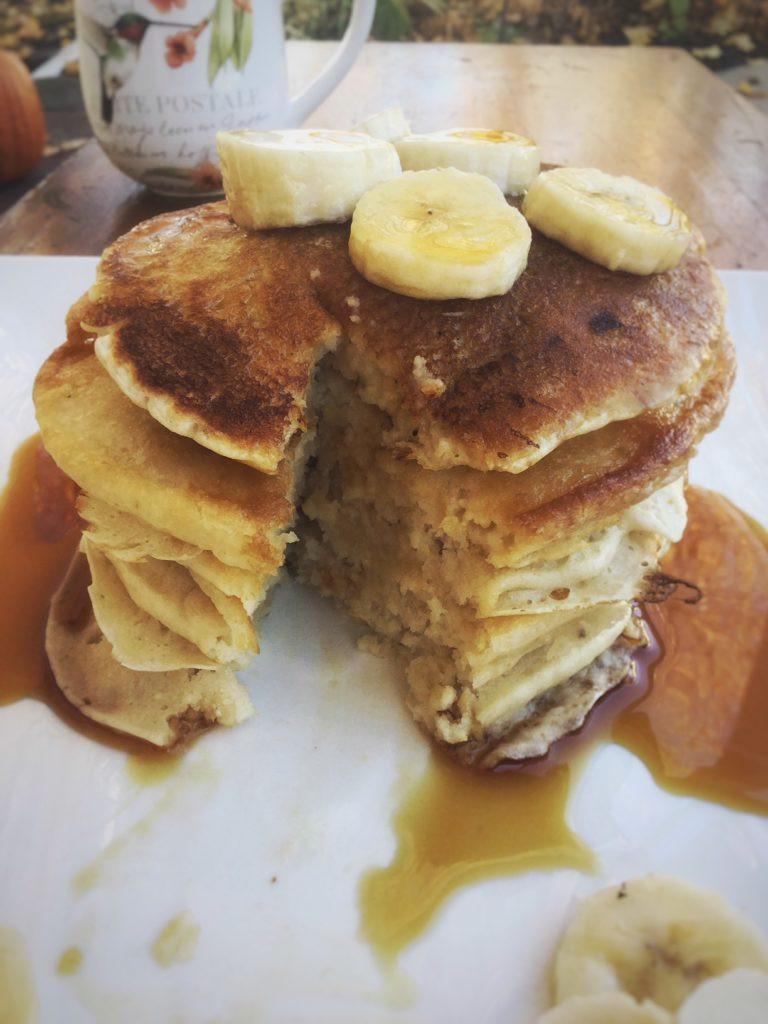 Vegan Buttermilk Pancakes  Vegan Buttermilk Pancakes My Healthy Homemade Life