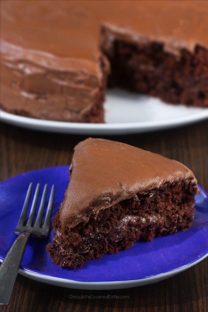Vegan Cake Recipe Easy  Vegan Chocolate Cake Everyone LOVES The Recipe
