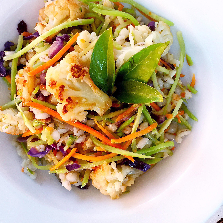 """Vegan Carb Free Recipes  Low Carb Low Sugar """"Fried Rice"""" ASTIG Vegan"""