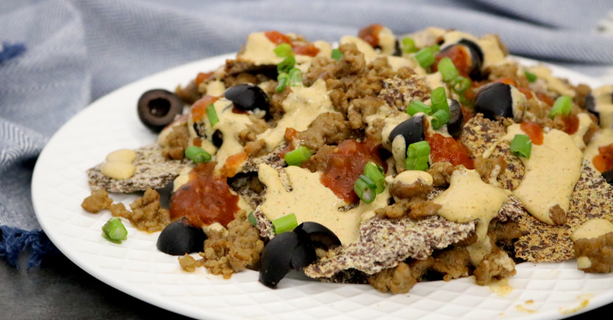 Vegan Carb Free Recipes  Low Carb Vegan Nachos Con Queso