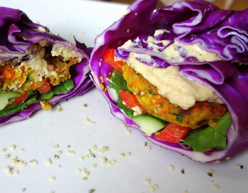 Vegan Carb Free Recipes  Low Fat Vegan Falafel Recipe The Glowing Fridge