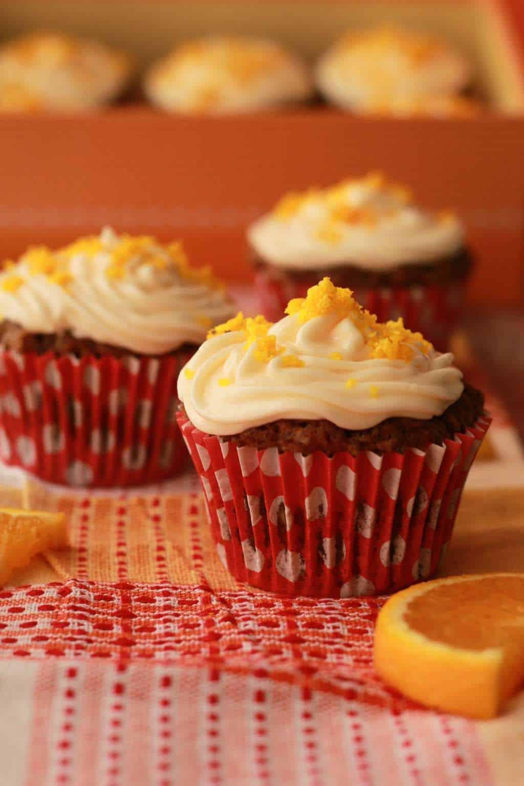 Vegan Carrot Cupcakes  Vegan Carrot Cake Cupcakes Orange and Walnut Loving It
