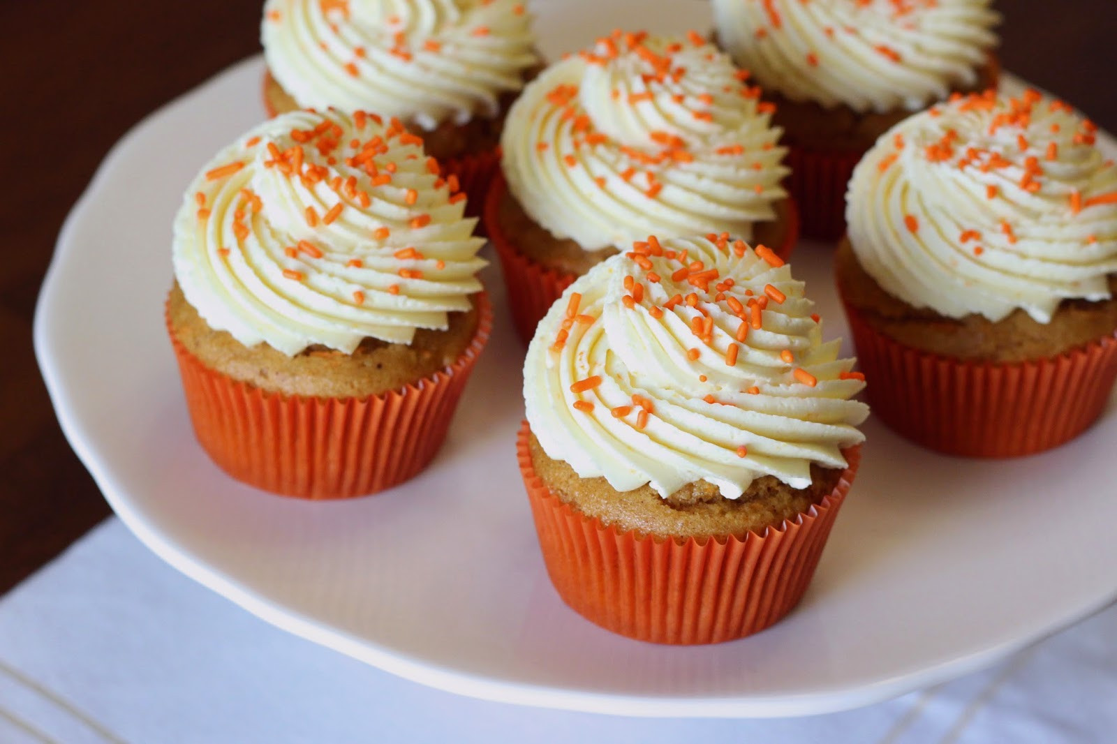 Vegan Carrot Cupcakes  Sarah Bakes Gluten Free Treats gluten free vegan carrot
