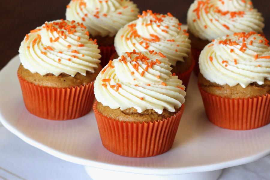 Vegan Carrot Cupcakes  gluten free vegan carrot cupcakes Sarah Bakes Gluten Free