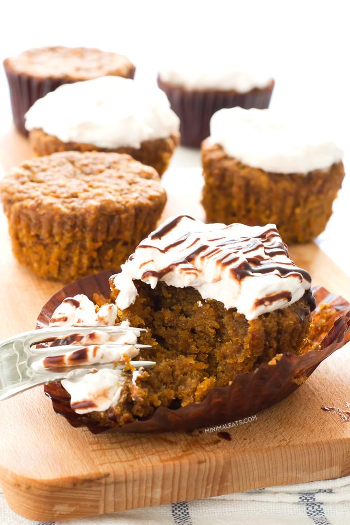 Vegan Carrot Cupcakes  Vegan Carrot Cake Cupcakes