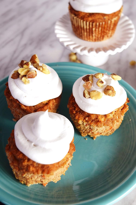 Vegan Carrot Cupcakes  Vegan Carrot Cake Cupcakes Beaming Banana