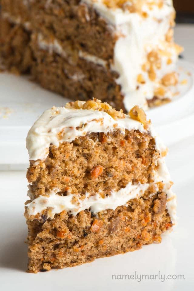 Vegan Carrot Cupcakes  Classic Vegan Carrot Cake Recipe Namely Marly