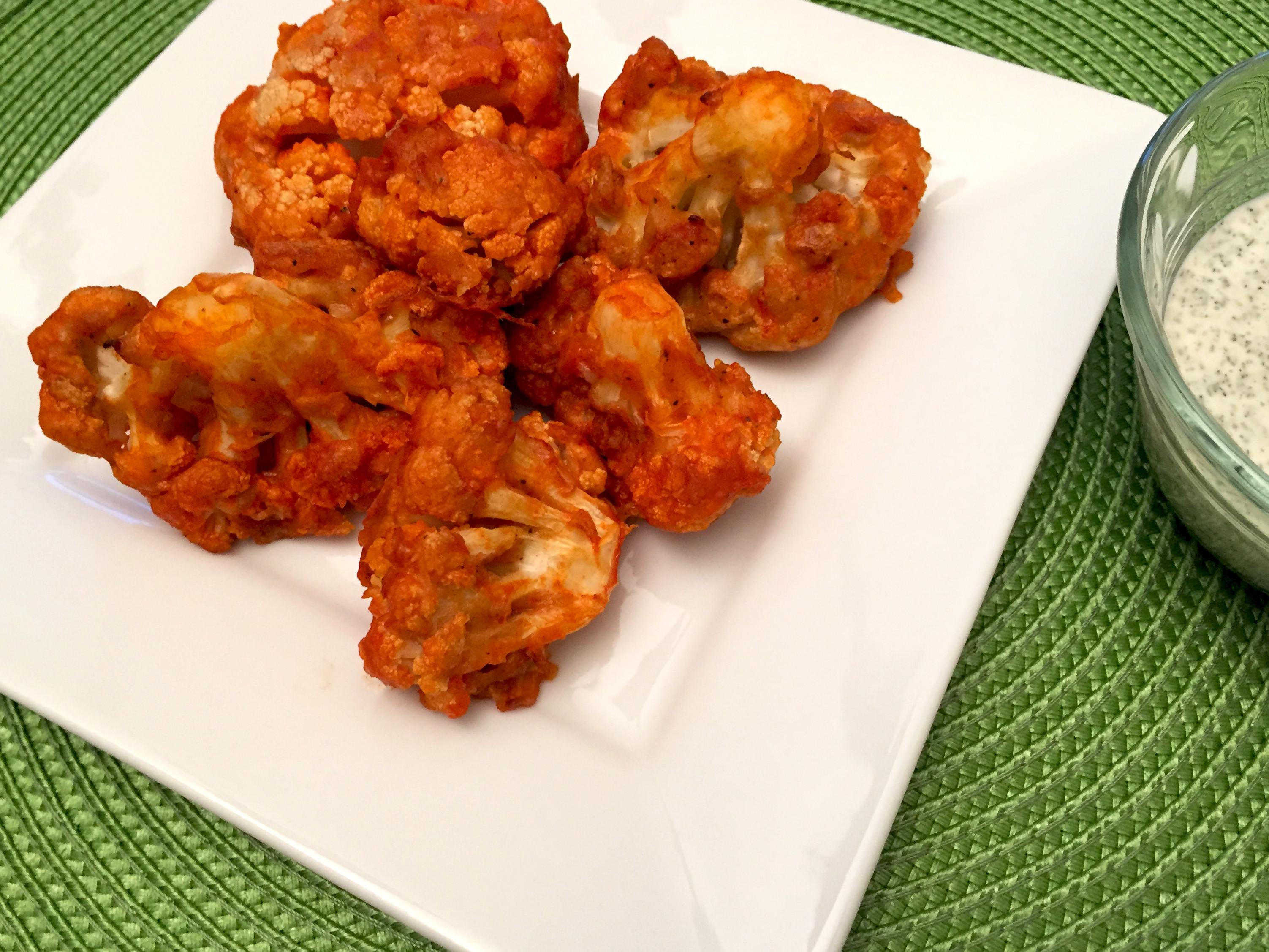 Vegan Cauliflower Wings  Vegan Cauliflower Buffalo Wings Simply Delicious LottaVeg