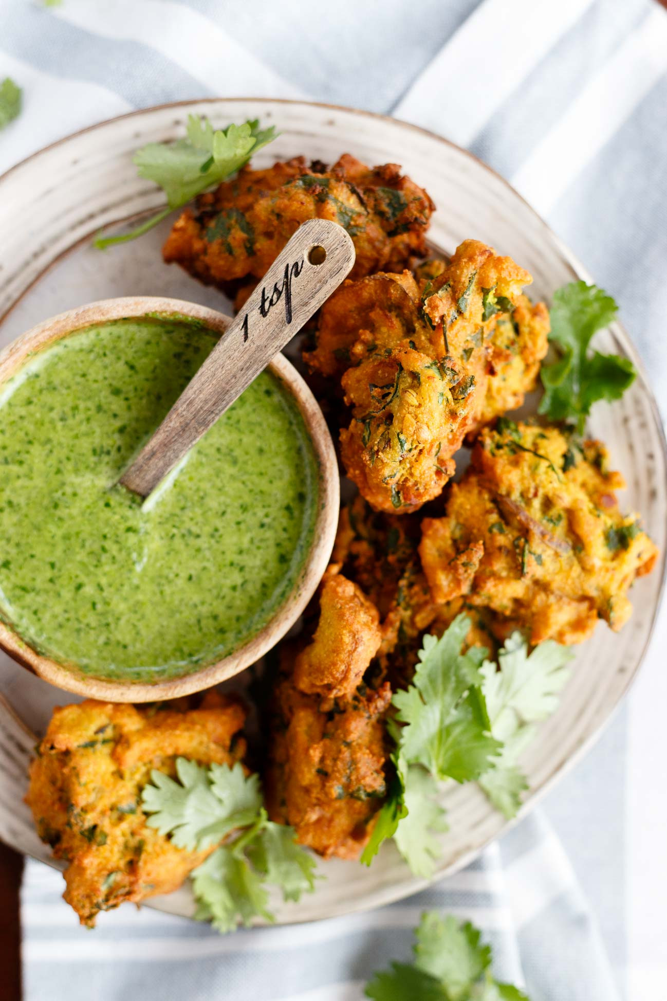 Vegan Chef Recipes  Ve able Pakoras I LOVE VEGAN