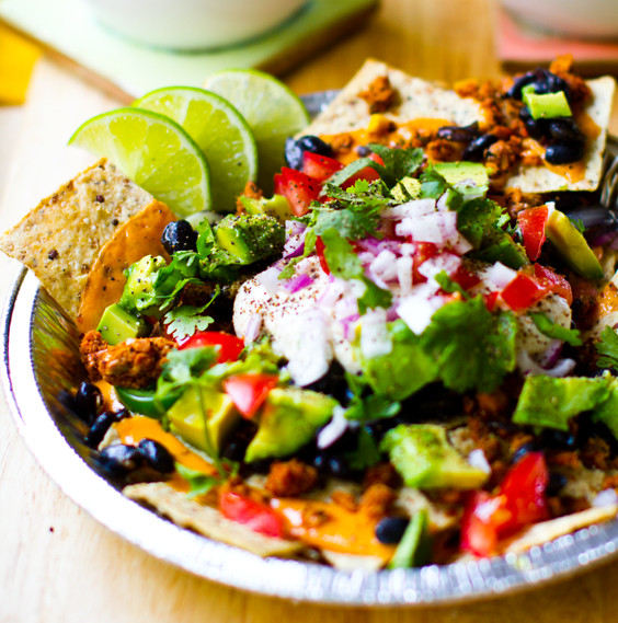 Vegan Chef Recipes  Vegan Nachos for all Cinco de Mayo Recipe