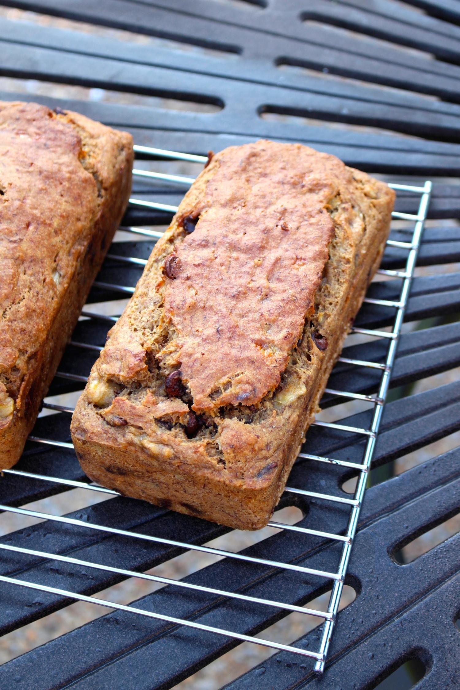 Vegan Chocolate Chip Banana Bread  Vegan Chocolate Chip Banana Bread