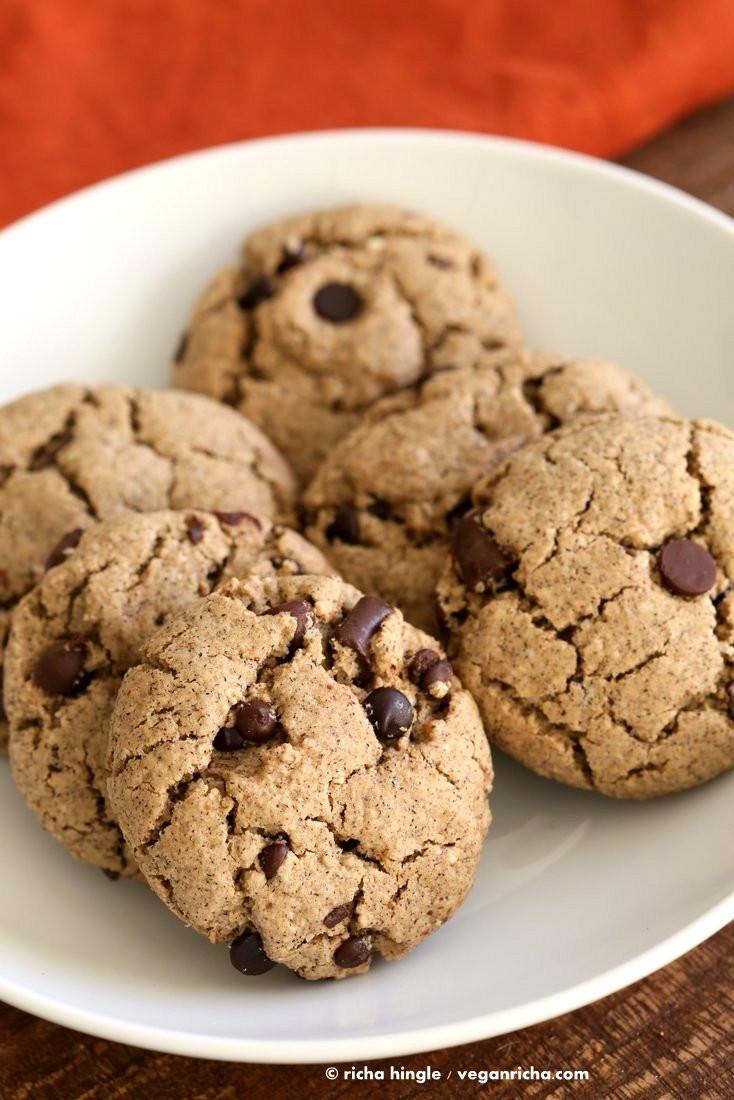Vegan Chocolate Chip Cookies Brand  Gluten free Vegan Chocolate Chip Cookies Vegan Richa