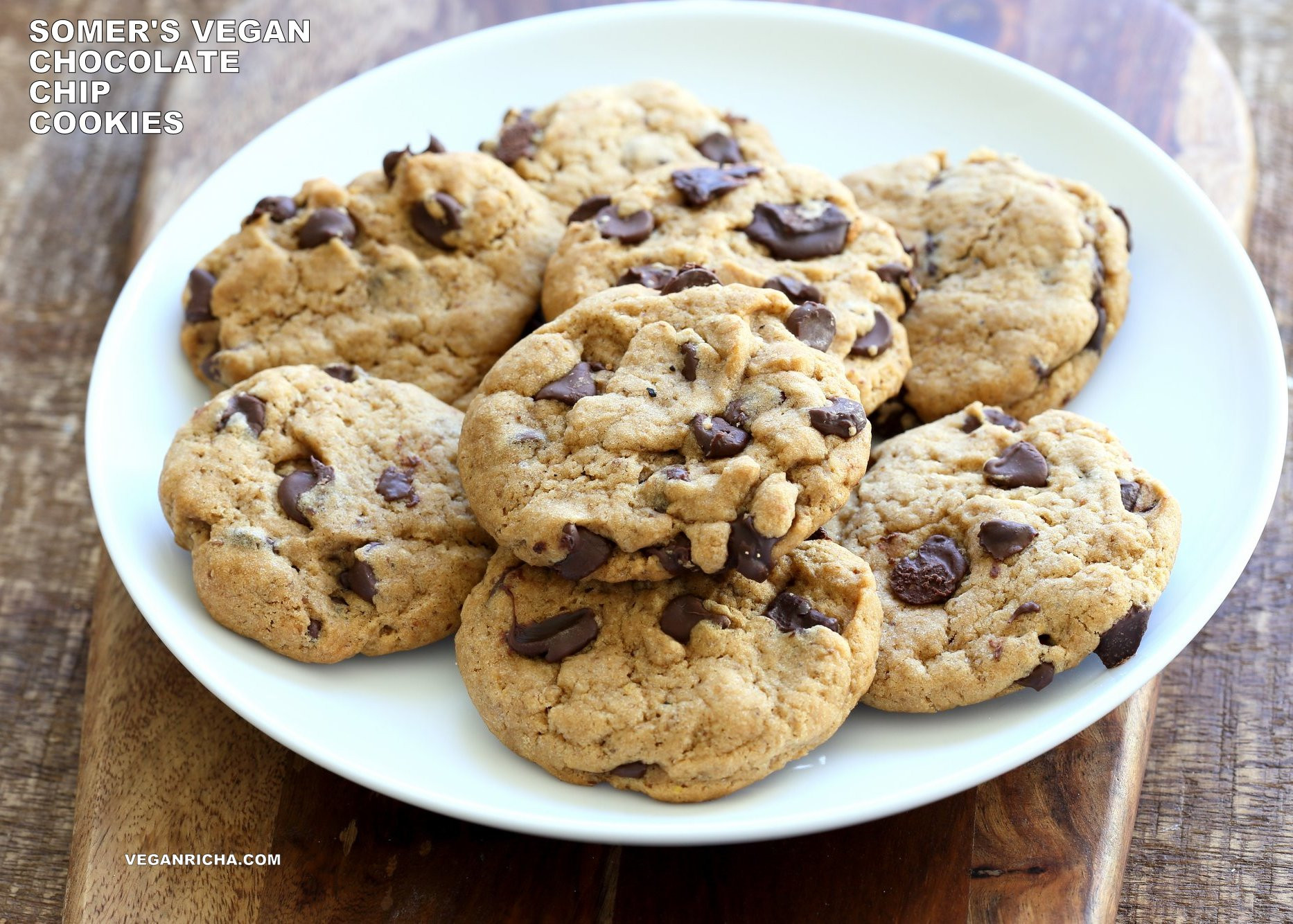Vegan Chocolate Chip Cookies Brand  Vegan Chocolate Chip Cookies with Coconut Oil Palm Oil