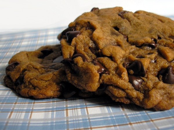 Vegan Chocolate Chip Cookies Brand  Chocolate Chip Cookies Hell Yeah It s Vegan