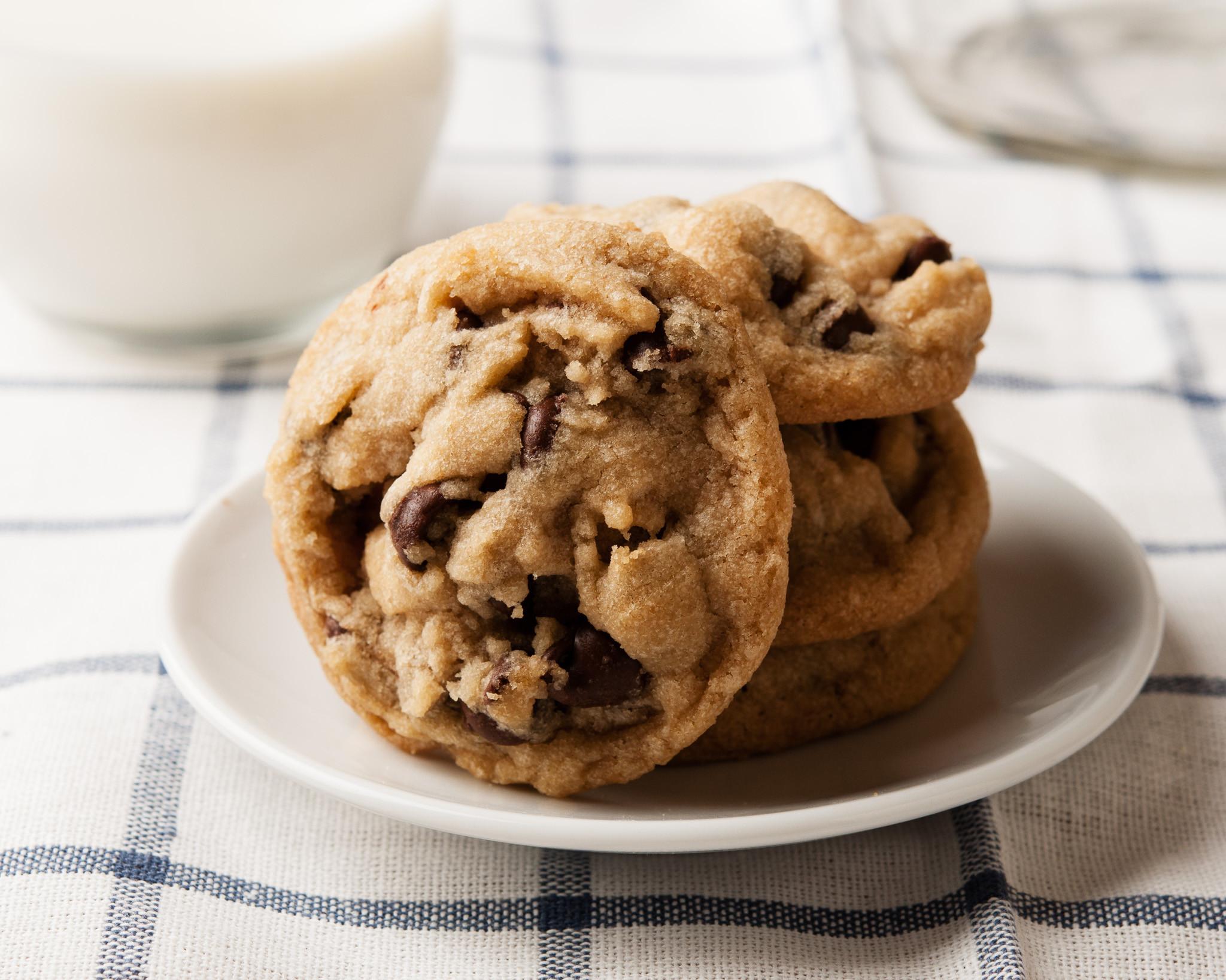 Vegan Chocolate Chip Cookies Brand  The Best Vegan Chocolate Chip Cookies I bake he shoots