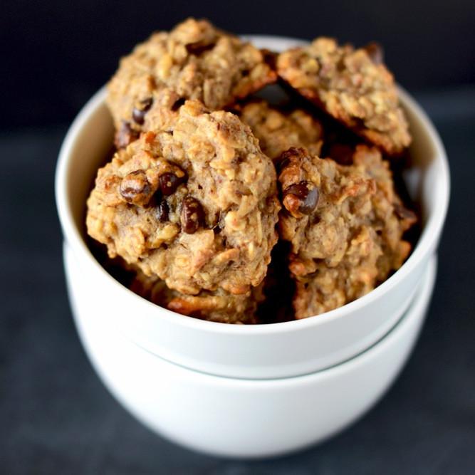 Vegan Chocolate Chip Cookies Minimalist Baker  Gluten Free Vegan Breakfast Cookies