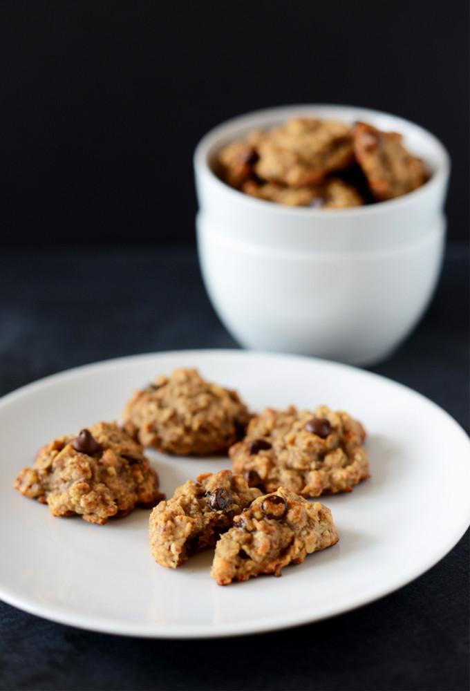 Vegan Chocolate Chip Cookies Minimalist Baker  Gluten Free Vegan Breakfast Cookies Minimalist Baker