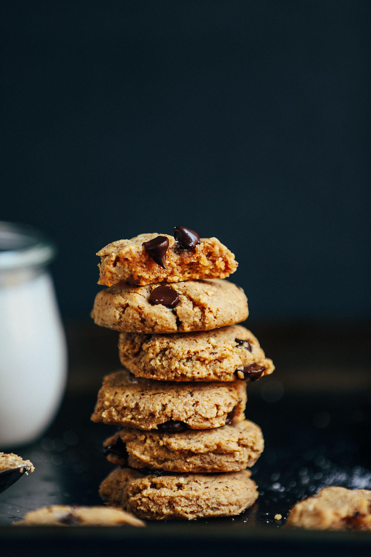 Vegan Chocolate Chip Cookies Minimalist Baker  vegan chocolate chip cookies minimalist baker