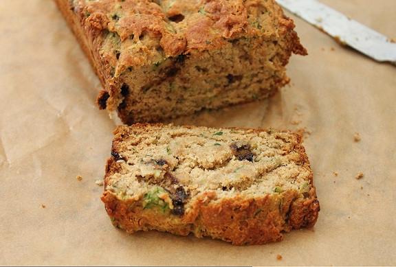 Vegan Chocolate Chip Zucchini Bread  Chocolate Chip Zucchini Bread Vegan Healthy Food Galerry