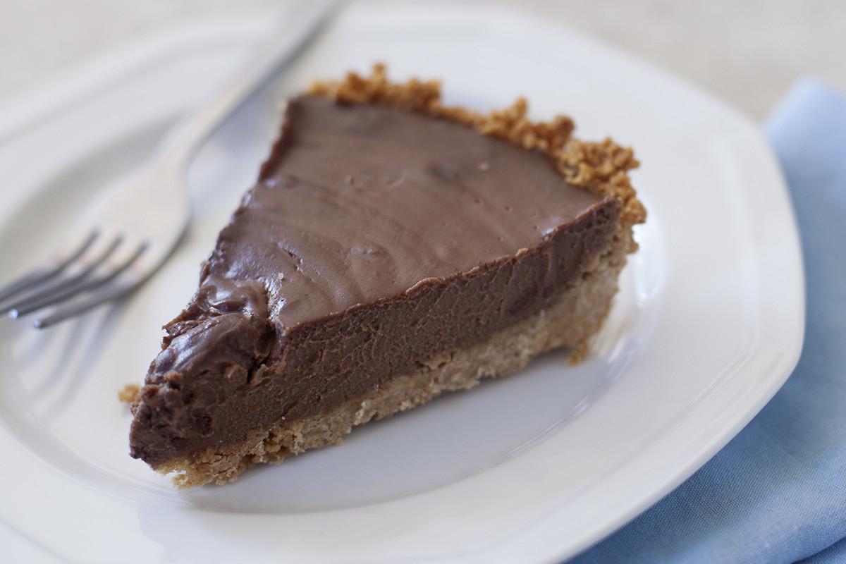 Vegan Chocolate Pie Recipe  Vegan Chocolate Coconut Cream Pie