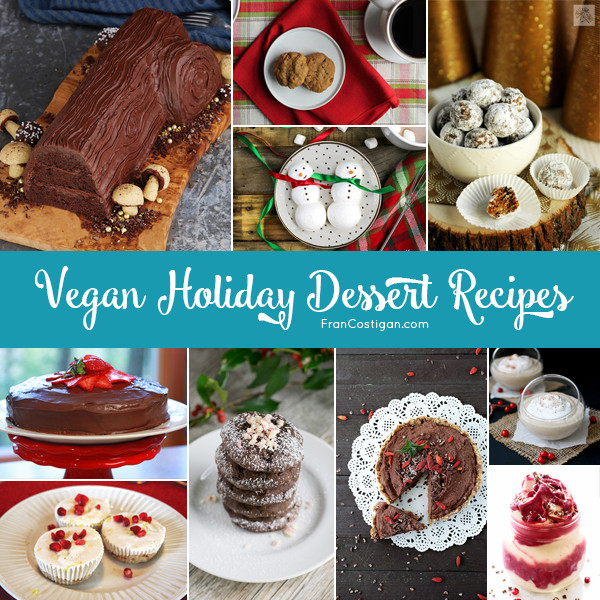 Vegan Christmas Dessert Recipes  Vegan Holiday Dessert Recipes FRAN COSTIGAN