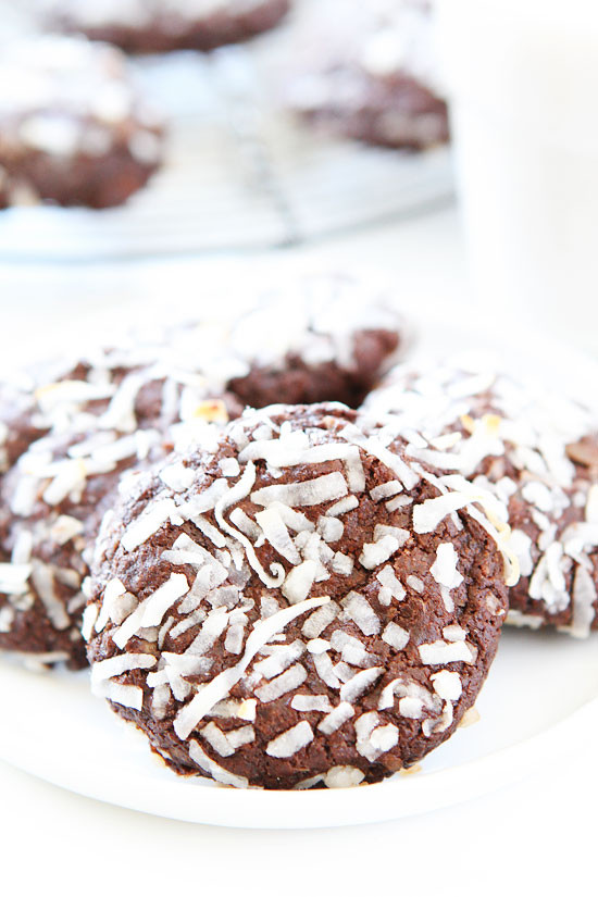 Vegan Coconut Cookies Recipes  Vegan Chocolate Coconut Cookies