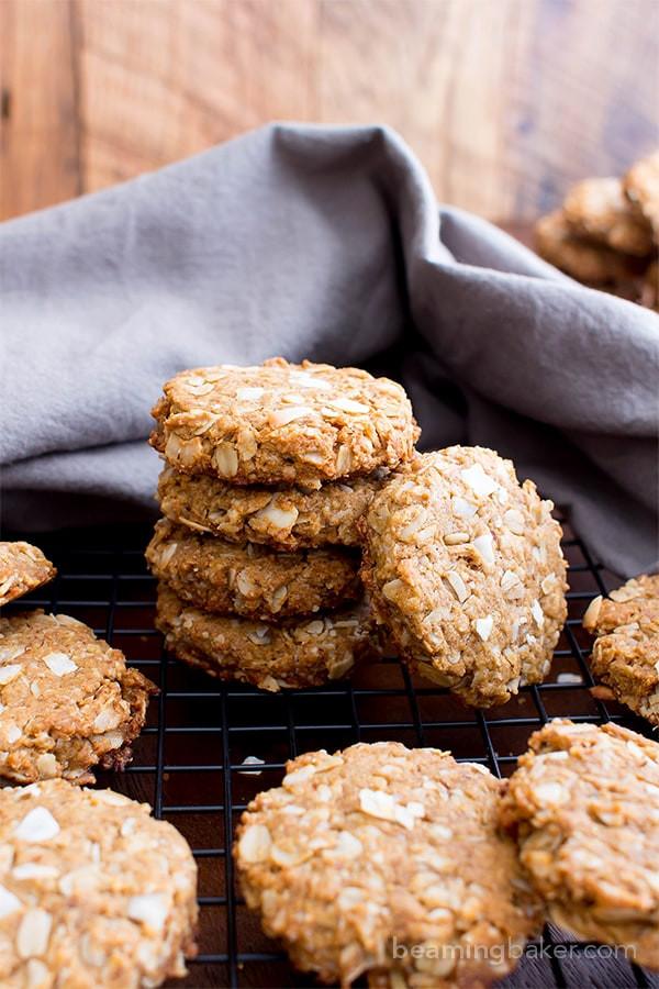 Vegan Coconut Cookies Recipes  Peanut Butter Coconut Oatmeal Cookies Vegan Gluten Free