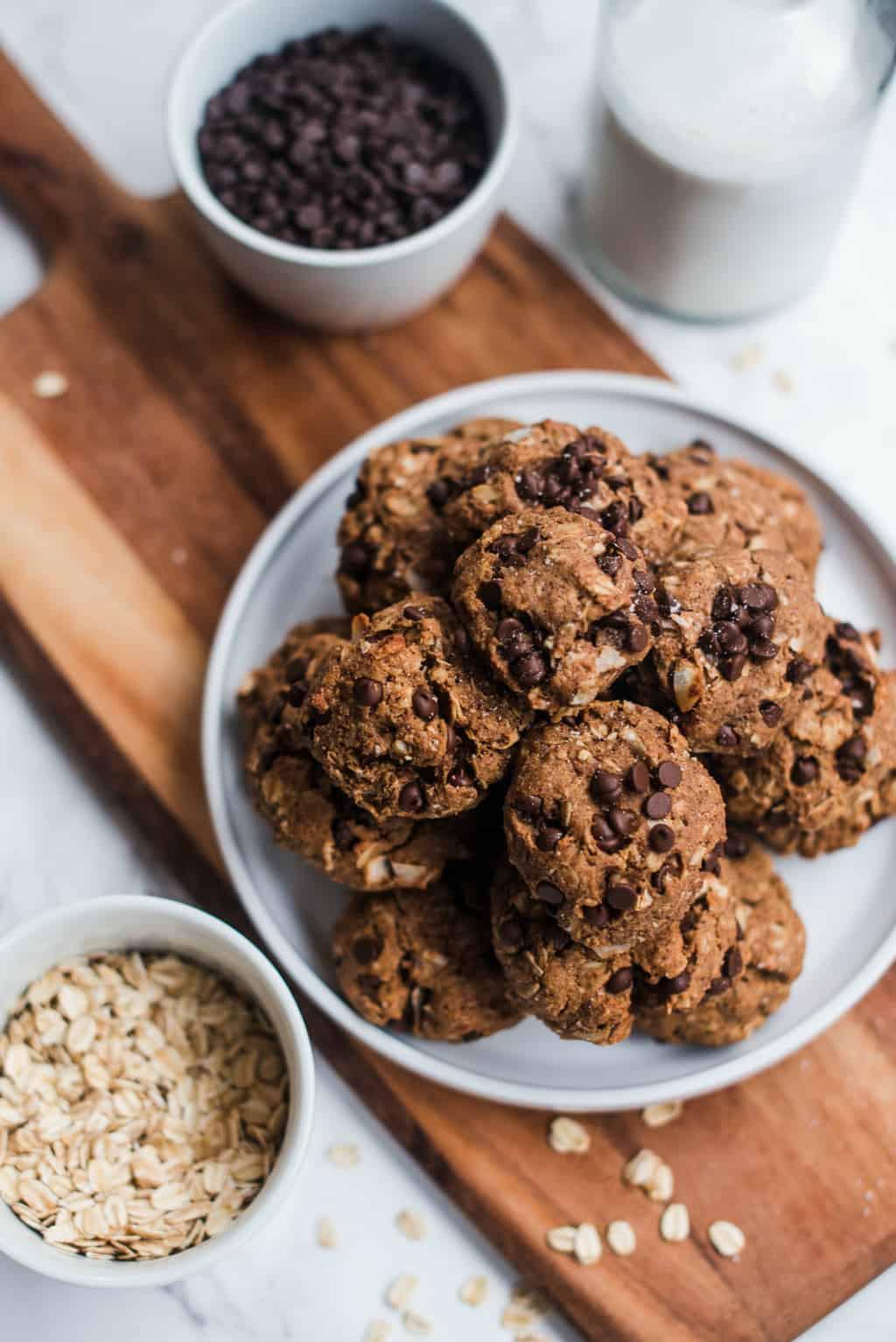 Vegan Coconut Cookies Recipes  Vegan Almond Butter Coconut Cookies Reluctant Entertainer