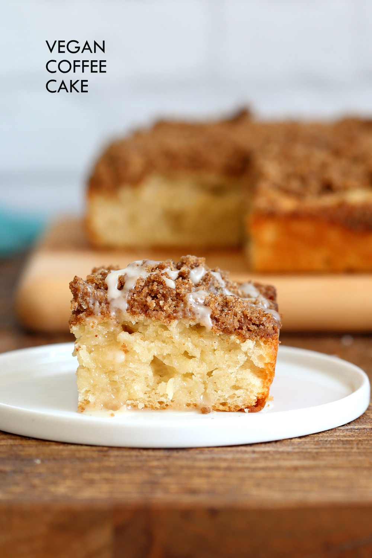 Vegan Coffee Recipes  Vegan Coffee Cake Recipe Cinnamon Streusel Cake Vegan