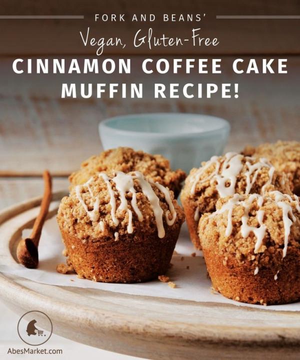 Vegan Coffee Recipes  Vegan Gluten free Cinnamon Coffee Cake Muffin Recipe from